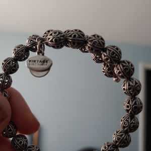 Alex and Ani Vintage Beaded Bracelet
